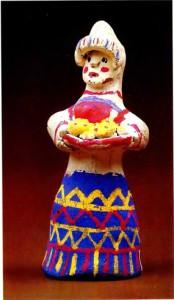 Каргопольская игрушка. Баба
