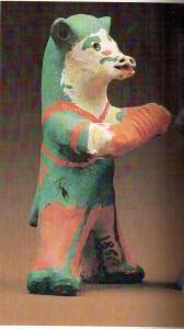 Каргопольская игрушка. Медведко.