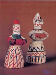 Каргопольская игрушка. Бабы