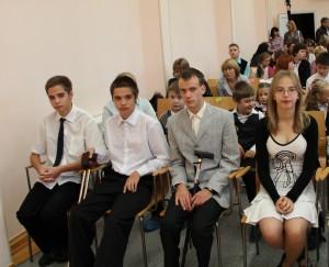 1 сентября-старшеклассники