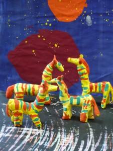 лепим с детьми филимоновскую лошадку