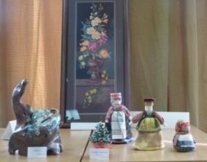 выставка рукодельных работ