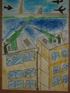 блокада - рисунок