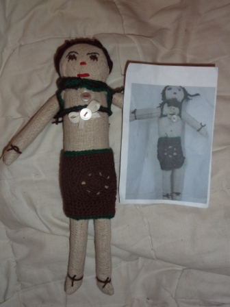 кукла из блокады