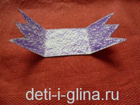 птичка из бумаги - крылья