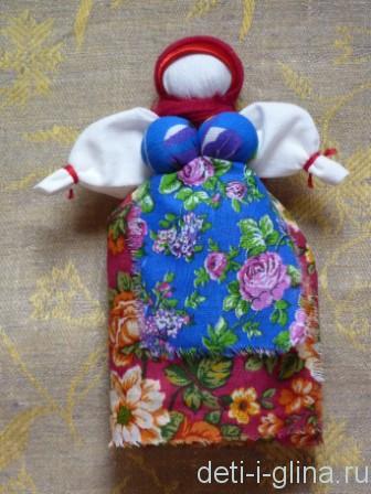 вепсская кукла - платок