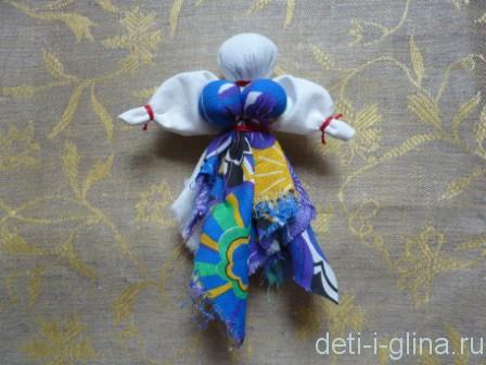 вепсская кукла - грудь