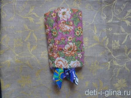 вепсская кукла - выворотный способ