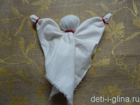 вепсская кукла - руки